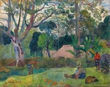 Gauguin, Te raau rahi | Il grande albero | Le grand arbre | The big tree