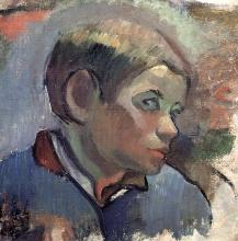 Gauguin, Testa di giovane contadino   Tête de jeune paysan   Young peasant head