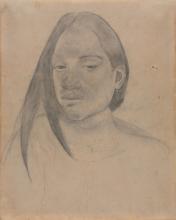 Gauguin, Testa di una donna di Tahiti