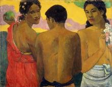 Gauguin, Tre tahitiani.jpg