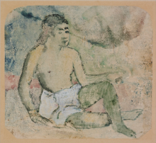 Gauguin, Uomo delle isole Marchesi | Homme des îles Marquises | Man fron the Marquesas Islands