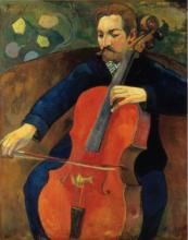 Gauguin, Upaupa Schneklud | Il musicista Schneklud | Le musicien Schneklud | The player Schneklud