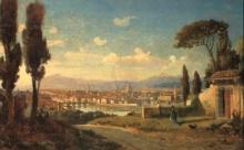 Gelati (attribuito a), Veduta di Firenze.jpg