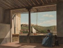 Lorenzo Gelati (attribuito a), Veduta di Monte alle Croci