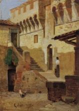Gelati, Cortile del castello di Arezzo.jpg