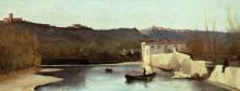 Gelati, L'Arno al mulino delle gualchiere.png