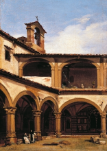 Gelati, Nel chiostro di Santa Maria Novella.png
