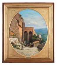 Gelati, Passeggiata sulla collina nei pressi di Firenze [cornice].jpg
