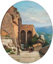 Gelati, Passeggiata sulla collina nei pressi di Firenze.png