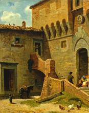 Gelati, Scena rurale nel vecchio castello [dettaglio].png