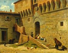 Gelati, Scena rurale nel vecchio castello.png