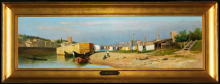 Gelati, Veduta dell'Arno a San Niccolo a Firenze [cornice].jpg
