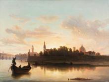 Gelati, Veduta dell'Arno alla 'pescaia'.png