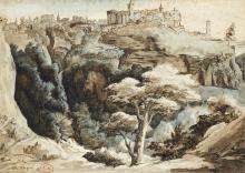 Théodore Géricault, Veduta di Tivoli | Vue de Tivoli | View of Tivoli