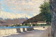 Eugenio Gignous, Lago Maggiore