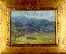 Lorenzo Gignous, Paesaggio montano