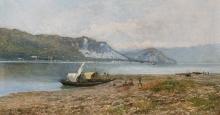 Lorenzo Gignous, Veduta del lago Maggiore