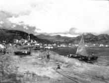Lorenzo Gignous, Veduta di Porto Ceresio