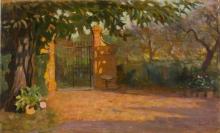 Gioli Francesco, Cancello di villa.jpg