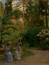 Gioli Francesco, Conversazione in giardino [1892].jpg