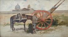 Gioli Francesco, Il carretto rosso.png