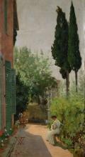Gioli Francesco, In giardino.jpg