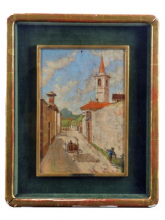 Gioli Francesco, Paesaggio con carretto.png