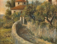 Gioli Francesco, Paesaggio italiano.jpg