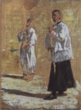 Gioli Francesco, Processione, bozzetto.jpg