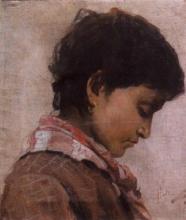 Gioli Francesco, Profilo di ragazza.png