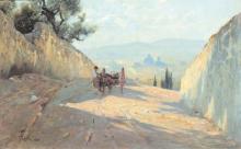 Gioli Francesco, Ritorno dal mercato [1880].jpg