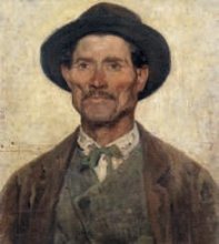 Gioli Francesco, Ritratto maschile | Portrait of a man