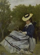 Gioli Francesco, Signora in giardino.jpg