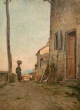 Gioli Francesco, Strada di villaggio animata