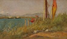 Gioli Francesco, Sulla riva di un lago.jpg