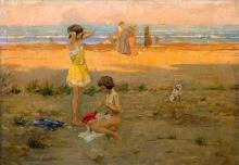 Gioli Francesco, Sulla spiaggia.jpg