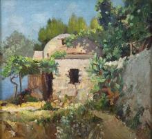 Francesco Gioli, Torretta nel giardino fiorito