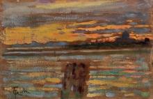 Gioli Francesco, Venezia al tramonto.jpg