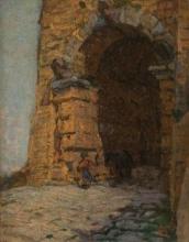 Gioli Luigi, Arco etrusco a Volterra.jpg