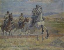 Gioli Luigi, Artiglieri a cavallo