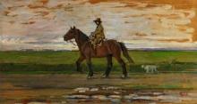 Gioli Luigi, Buttero a cavallo [2].jpg