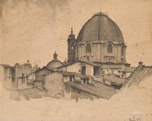 Gioli Luigi, La basilica di San Lorenzo a Firenze.png