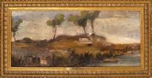 Gioli Luigi, Paesaggio lacustre.jpg