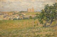 Gioli Luigi, Paesaggio senese.jpg