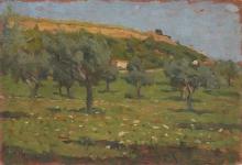 Gioli Luigi, Paesaggio toscano [3].jpg