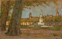 Gioli Luigi, Pisa, piazza Santa Caterina.jpg