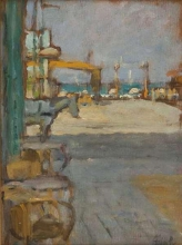 Gioli Luigi, Spiaggia in Versilia.jpg