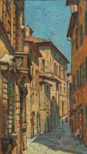 Gioli Luigi, Strada di Volterra.jpg