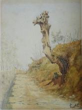 Gioli Luigi, Strada di campagna [1].jpg
