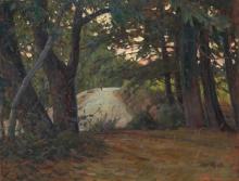 Gioli Luigi, Strada nel bosco [fronte].jpg